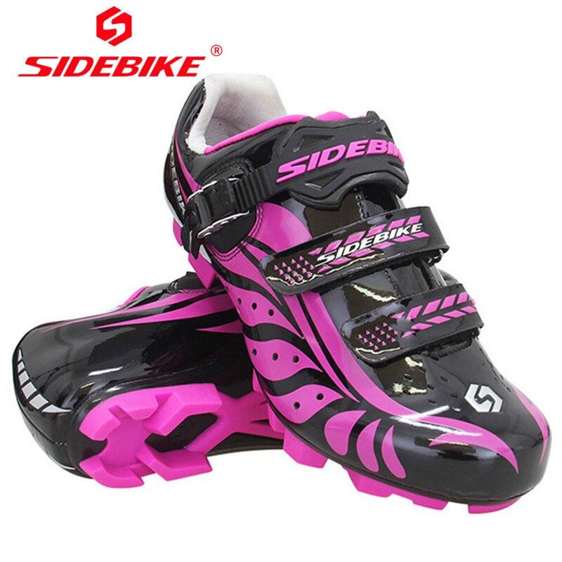 Здесь продается  SIDEBIKE Women Mountain Bike Shoes For Bicycles Road Cycling Sneakers Zapatilla Mtb Hombre Sapatilha Ciclismo Chaussure Vtt  Спорт и развлечения