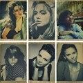 Angelina Jolie / Monica Bellucci / Nina Dobov / Sophie Marceau Sexy Beauty Poster Painting/Kraft Poster/Wall sticker