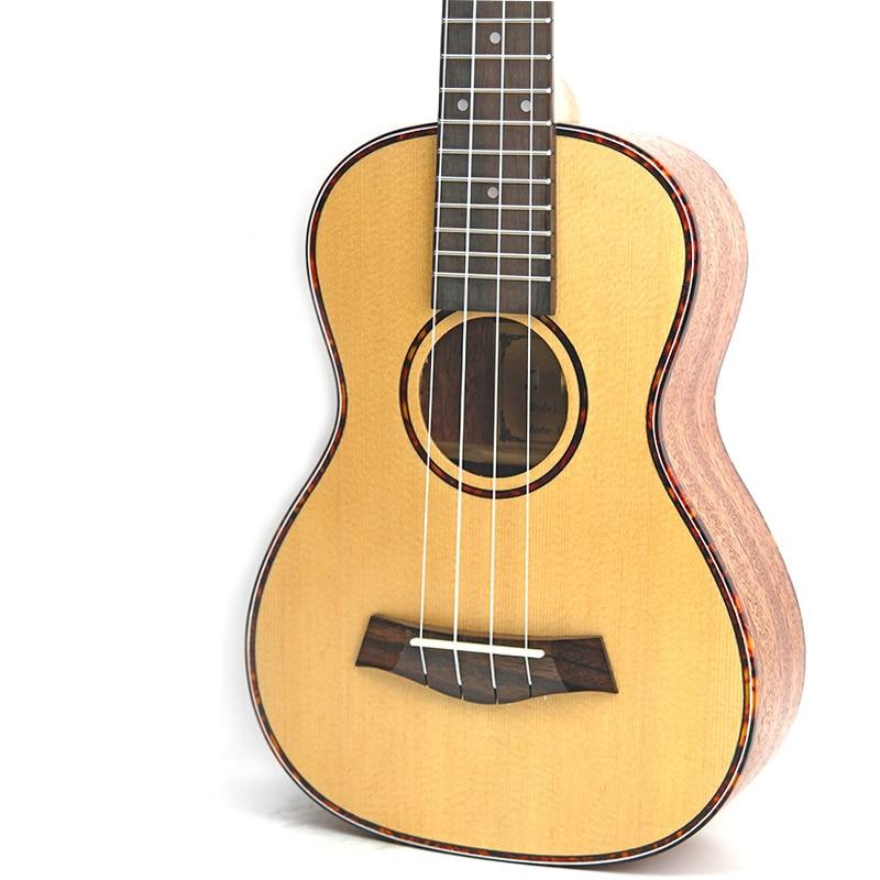 Afanti  Music 23 inch small Guitar / Picea Asperata / 23 inch Ukulele (DGA-114)