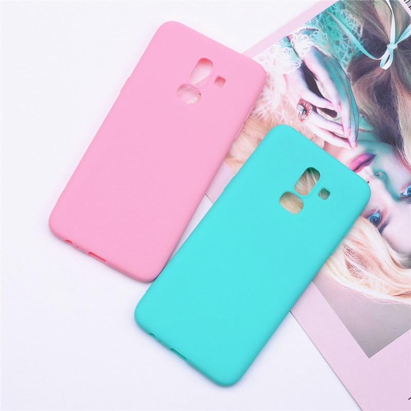 Silicone Case for Samsung Galaxy J8 2018 phone Case for Samsung Galaxy J8 2018 j810 Funda for Samsung J8 2018 Case Phone Coque