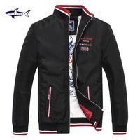 Outerwear men coat jacket Windcheater Jacket Men Cotton Brand clothing Tace & shark jaket men Comfortable Shar Rich billionaire