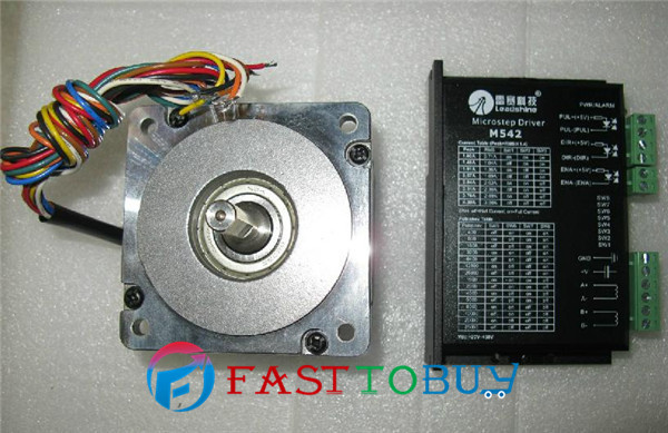 2-phase Stepper motor and drive  M542 + 86HS45 4.5N.m New rc2604h stepper motor drive 578 586