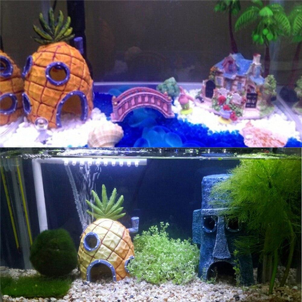 Us 9 01 6 Off Cartoon Resin Castle Aquariums Castle Decoration Aquarium Fish Tank Tower In Decorations From Home Garden On Aliexpress Com