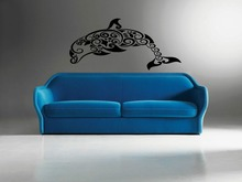 DCTAL Wild Animal Sticker Whale Decal Posters Wall Decals Pegatina Decal Decor Mural Wild Animal Sticker