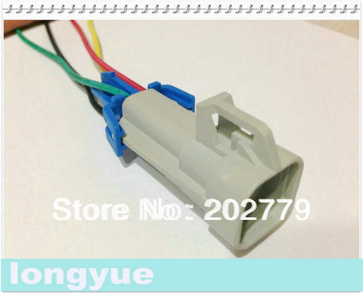 factory sale 10pcs universal Fuel Pump Wiring Harness with Square