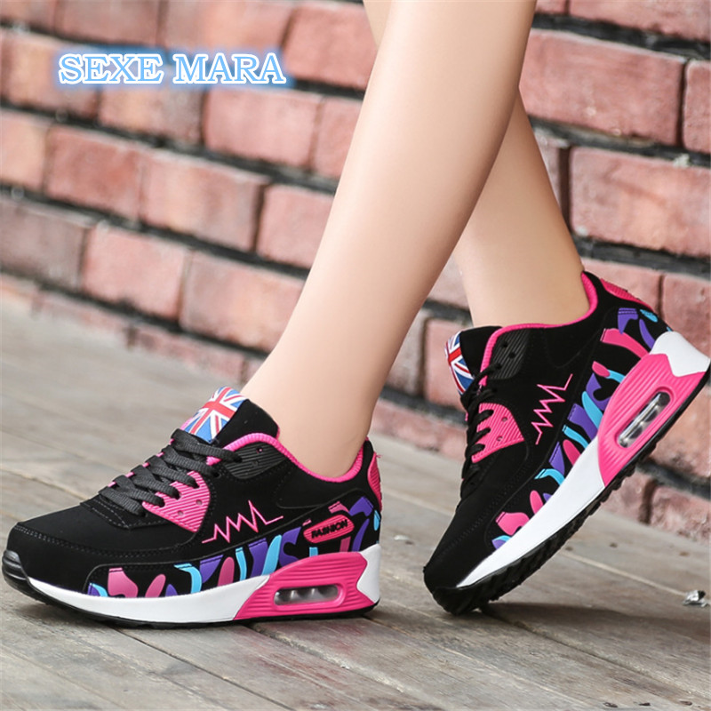 Comfort Women's Sneakers Outdoor Running Shoes for Women Shoes Sport shoes Air Cushioning Walking Athletic Trainers Jogging n