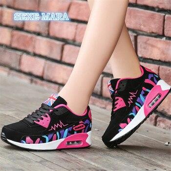Comfort vrouwen Sneakers Outdoor Loopschoenen voor Vrouwen Schoenen Sport schoenen Air Demping Wandelen Athletic Trainers Jogging n