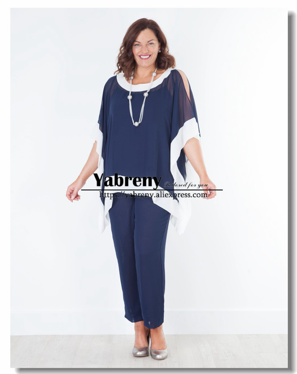 Simple Plus Size Chiffon Mother Of The Bride Dresses Wiht Shawl Black