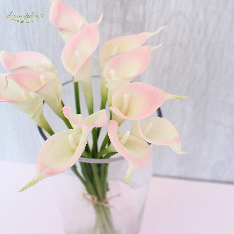 Aliexpress.com : Buy Zinmol 9pcs Real Touch Lily Calla PVC ...