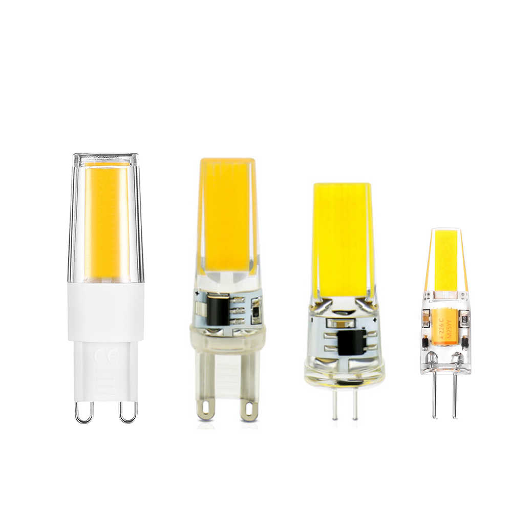 G9 LED BULB G4 led Lamp Bulb 220v Replace halogen 10W 20W 35W 50W AC DC 12V COB LED Lighting Lights Spotlight Chandelier