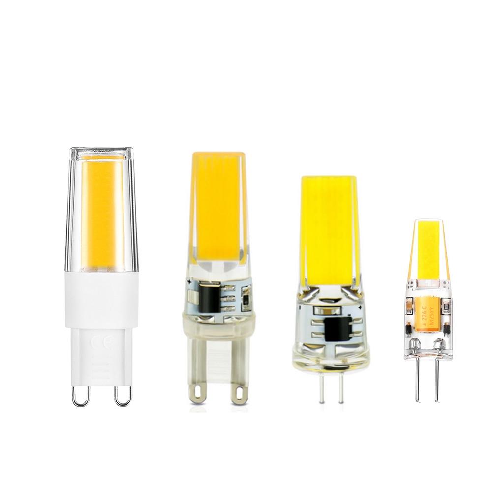 G9 LED BULB G4 led Lamp Bulb 220v Replace halogen 10W 20W 35W 50W AC DC 12V COB LED Lighting Lights Spotlight Chandelier