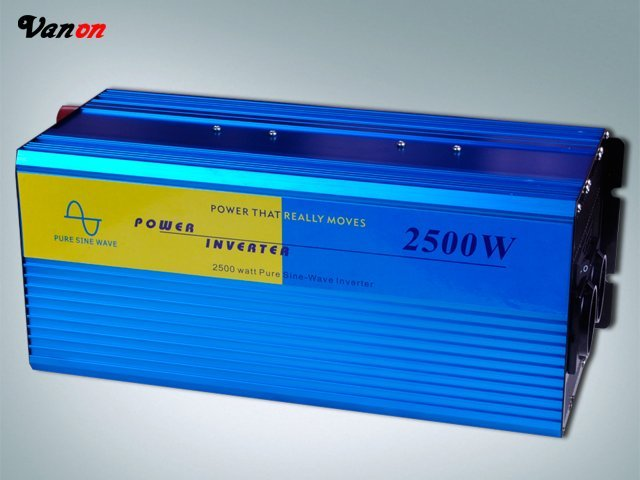 FACTORY PRICE !2500W 48Vdc dc to 220V ac Pure Sine Wave Power Inverter (5kw/5000w peak power)  FREE SHIPPING