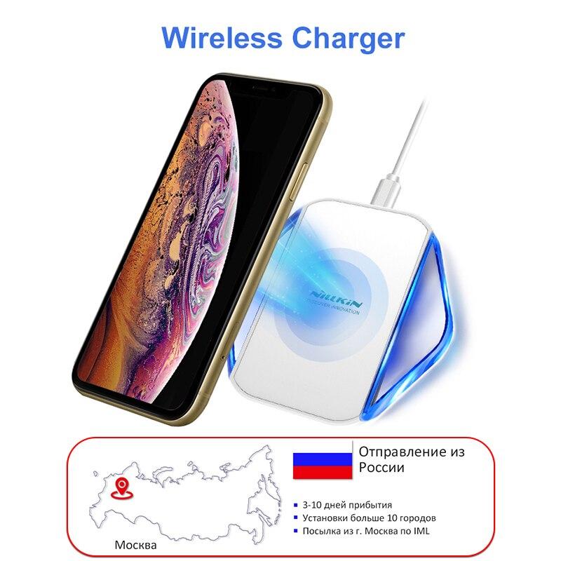 Оригинал Nillkin зарядное устройство док портативный Беспроводное зарядное устройство для Samsung Galaxy S8 S8 плюс S7 S7 край Примечание 5 для Xiaomi один п...