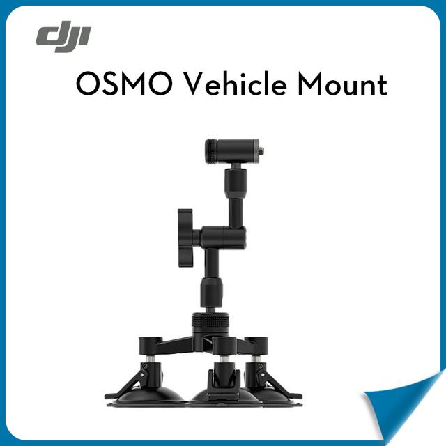 Original cámara selfie osmo drone dji universal de montaje en vehículo (triple montaje soporte de ventosa y de bloqueo de la articulación del brazo)