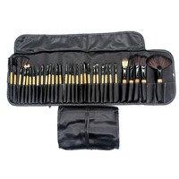 LAMEILA 32Pcs Makeup Brushes Professional Soft Cosmetics Make Up Brush Set Kabuki Foundation Lipstick Beauty Tools