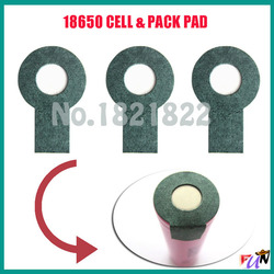 10pcs/alot 18650   insulating PAD battery protection PAD single pad