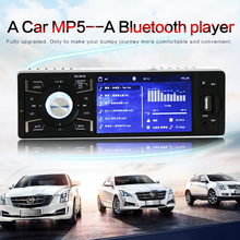 12V 4.1 Inch 1 Din Bluetooth HD Car Stereo Radio  MP3 MP5 Player Support USB / FM / TF / AUX In цены онлайн
