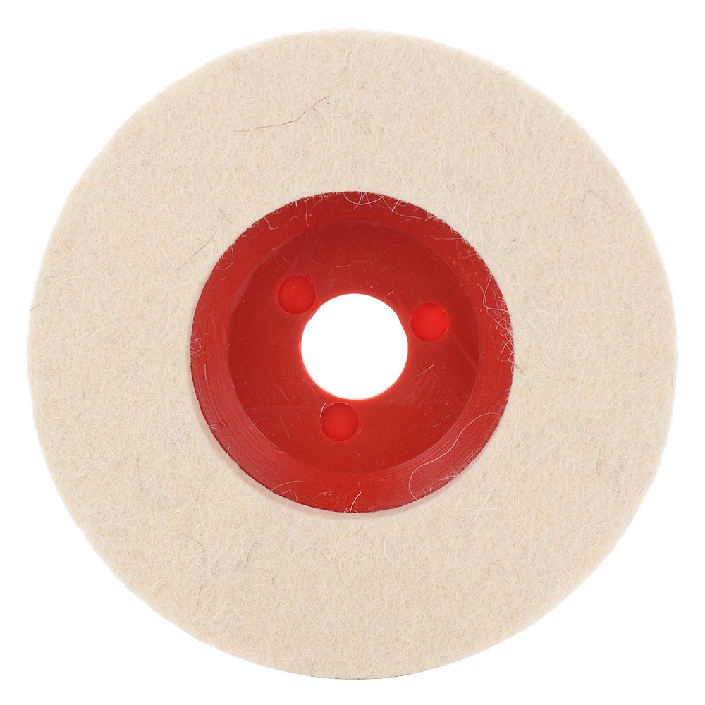 100mm Wool Polishing Wheel Buffing Pads Angle Grinder Wheel Felt Polishing Disc For Metal Marble Glass Ceramics Hot Sale