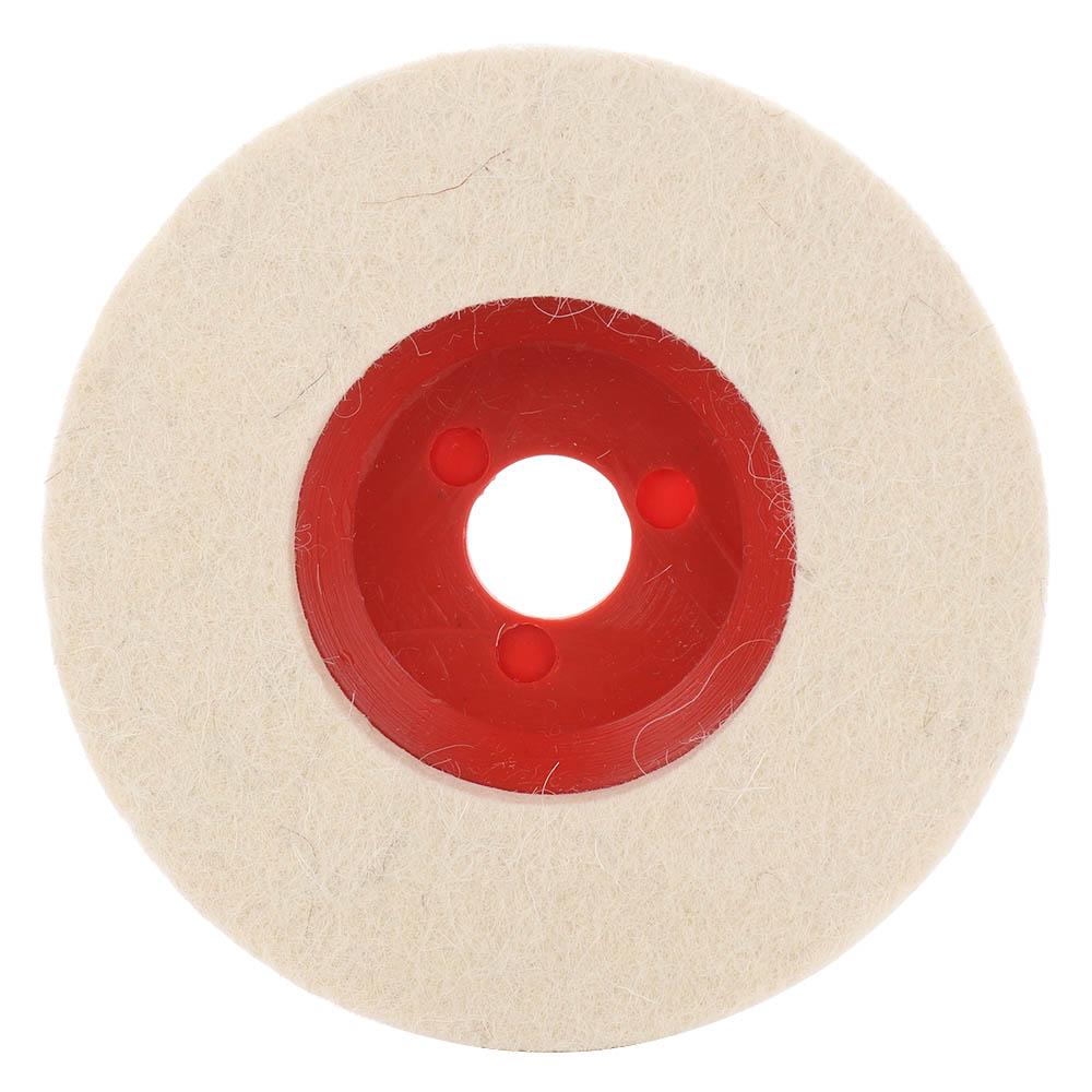 100mm Wool Polishing Wheel Buffing Pads Angle Grinder Wheel Felt Polishing Disc For Metal Marble Glass Ceramics Hot Sale