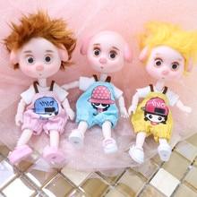 Sonho de fadas 1/12 bjd dodo pigies boneca 15cm mini boneca 26 corpo comum bonito presente das crianças brinquedo anjo surpresa ob11
