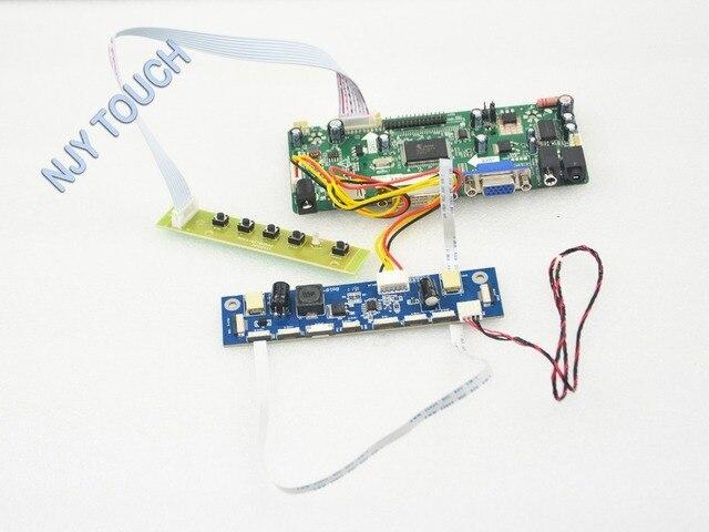 VGA DVI HDMI Placa Controladora HDMI LCD para M185XW01-V6 18.5 polegada 1366x768 LVDS LED 7083K-F10Y-00 M185XW01 V6 LCD placa de excitador