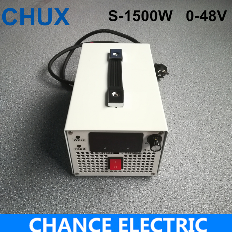 цена на LED Driver AC Input 220V to DC 1500W 0~48V 31.2A adjustable output Switching power supply Transformer for LED Strip light