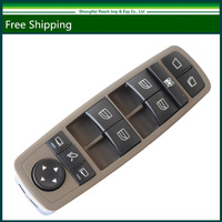 New Master Powder Window Switch For Mercedes Benz GL450 GL350 GL550 R350 R320 Class Brown 2518300590
