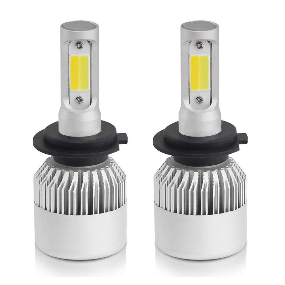 BraveWay H4 Led Light Headlight Lamp Dual Colors H7 H4 H1 H8 H11 H13 9005 9006 HB4 Car Light H7 Car Led Light Bulb H3 Fog Light