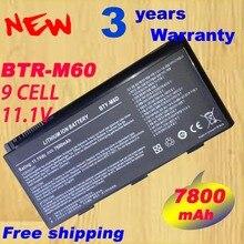 Batterie dordinateur portable BTY M6D E6603 Pour MSI GT60 GT660 GT660R GT663 GT663R GT670 GT680 GT680DX GT680DXR GT680R