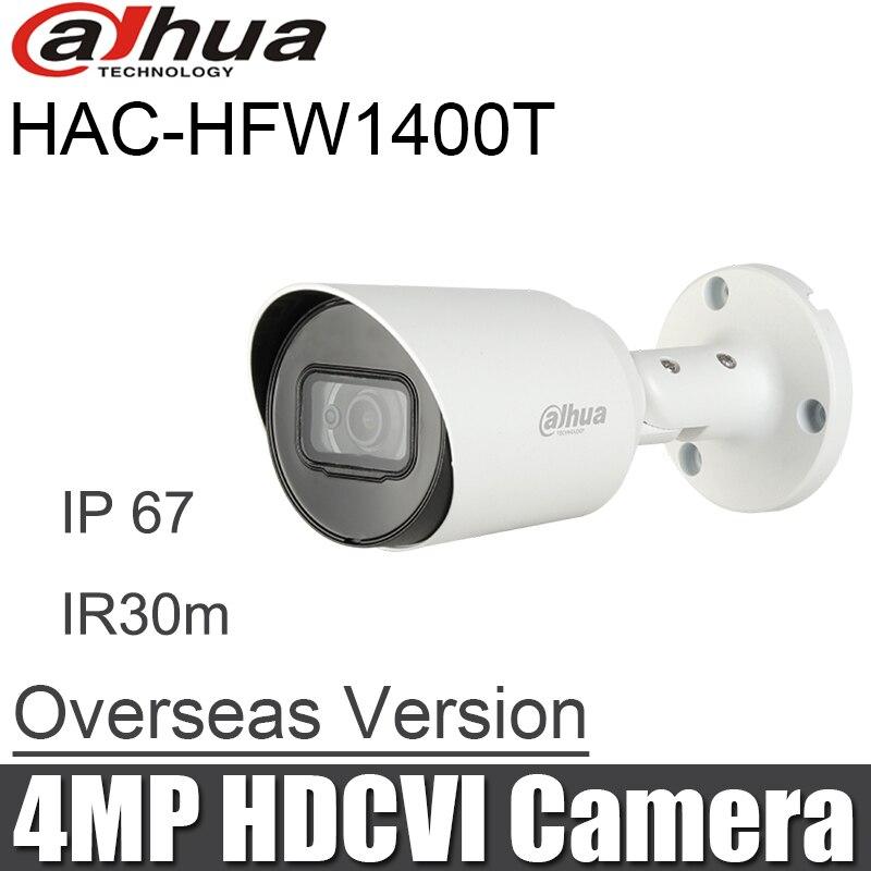 Dahua HAC-HFW1400T 4MP HDCVI IR IP67 Bullet Camera 3.6mm Lens English Version