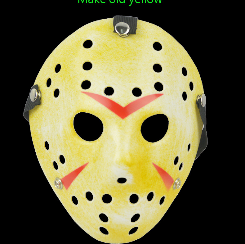 fast shipping Archaistic Jason Mask Full Face Antique Killer Mask Jason VS Friday The 13th Prop Horror Hockey Halloween Mask
