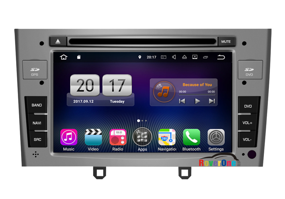 for peugeot 408 308 rcz 308cc 308sw android 7 1 autoradio car dvd radio stereo gps navigation. Black Bedroom Furniture Sets. Home Design Ideas