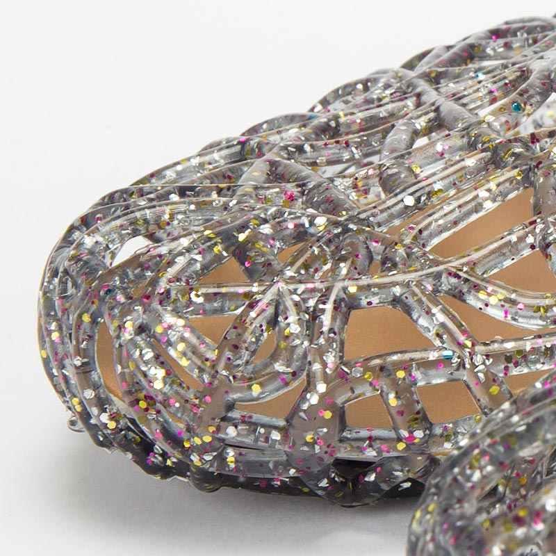 Giày Xăng Đan Nữ 2020 Mùa Hè Mới Giày Nữ Giày Nữ Giày Jelly Lưới Đế Bằng Thời Trang Mùa Hè Giày Người Phụ Nữ Sandalia Feminina