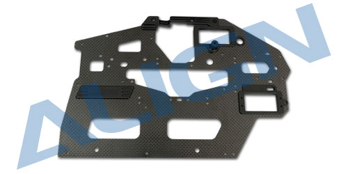 Genuine Align T-REX 550L Carbon Fiber Main Frame(L)/2.0mm H55B004XXW Original trex 550 Spare part sFree Shipping with Tracking trex 700 carbon main frame l 2 0mm hn7026 align trex 700 parts free shipping with tracking
