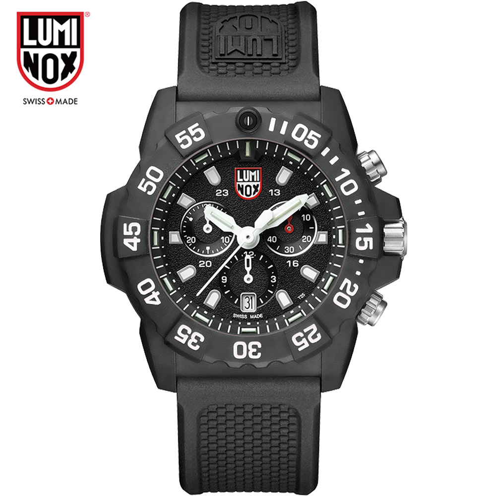 Luminox Made in Switzerland XS.3581 XS.3581.BO Land-emitting series of waterproof machinery мужские часы luminox xs 7051 bo 1