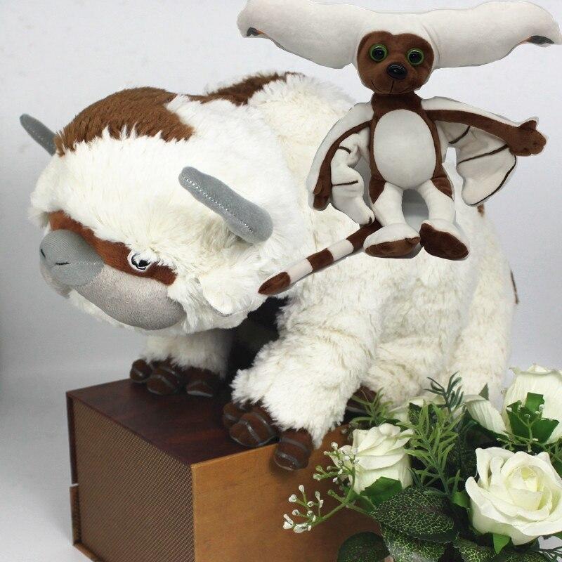 50 CM Die Last Airbender-fall Ressource Appa Momo Avatar Plüsch Puppe Spielzeug...