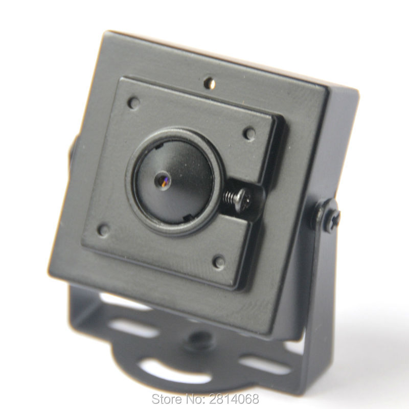 Mini Analog CCTV Camera 3.7mm Lens Surveillance Security Video Box 1/4 Color CMOS For Home FPV analog 800tvl 1200tvl cctv mini surveillance home security camera 48leds 3 7mm lens indoor video camera ntsc pal bnc color white