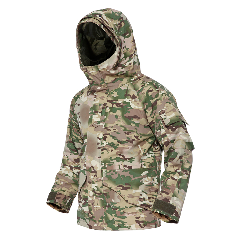 winter G8 Men's Tactical Jacket Army Camouflage Thick Warm Fleece inside Military Jacket Waterproof Windbreaker(China)