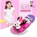 Venta grande de la historieta de Mickey zapatillas de suela blanda niños baño ducha Anti antideslizante zapatillas niños de zapatillas de verano Az