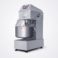 220V 1 5KW Stainless Steel 20L Multifunction Commercial Dough Mixer Egg Cream Dough Food Mixer Machine