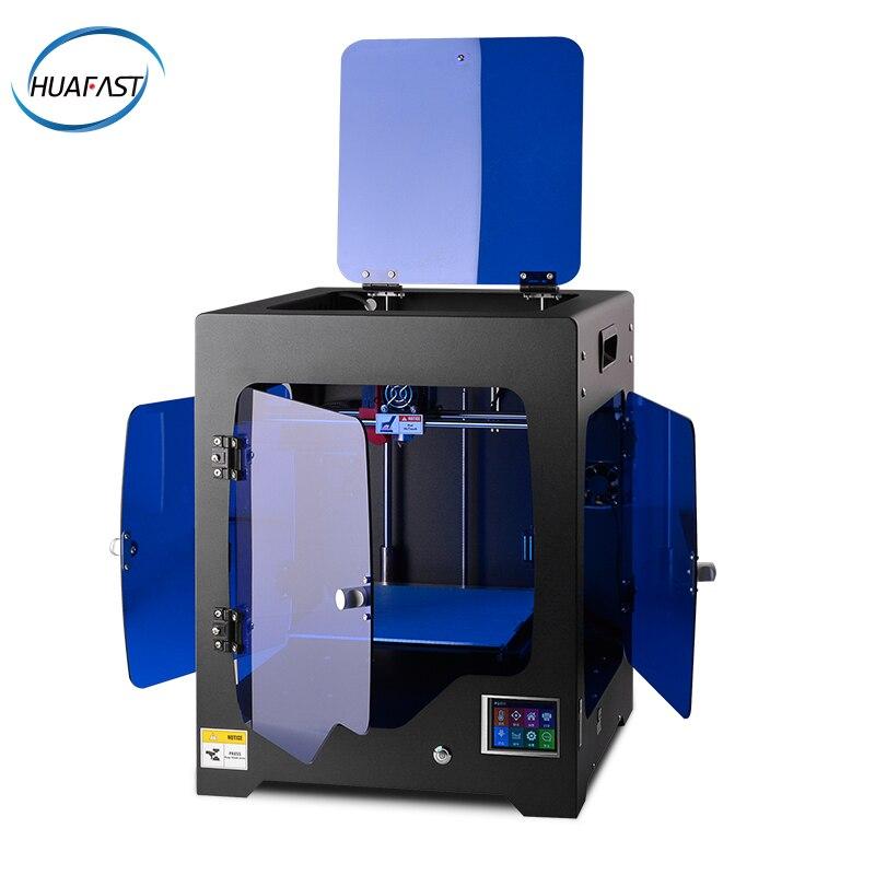 HUAFAST plus grande taille imprimante 3d cadre métallique impresora 3d drucker haute précision compatible rampes prusa i4 mk10 extrudeuse