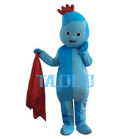 Iggle Piggle Mascot Costume In The Night Garden Cosplay Fancy Dress Free Shipping