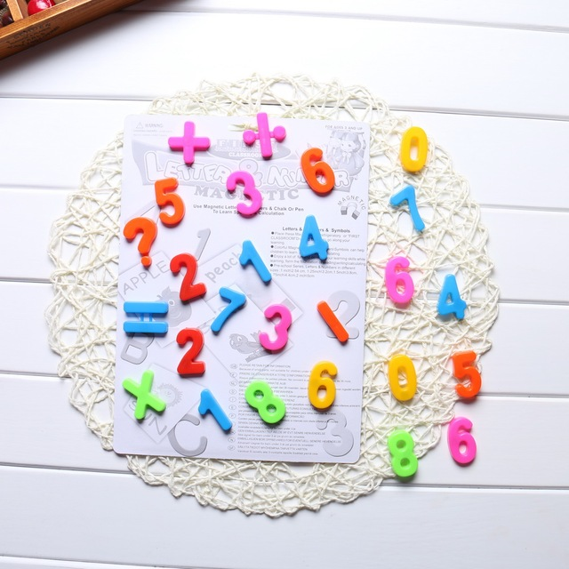 33 pcs Russian Alphabet Magnetic Letters Fridge, Refrigerator Message Board for Baby Educational & Learning Toy for Kids Toys
