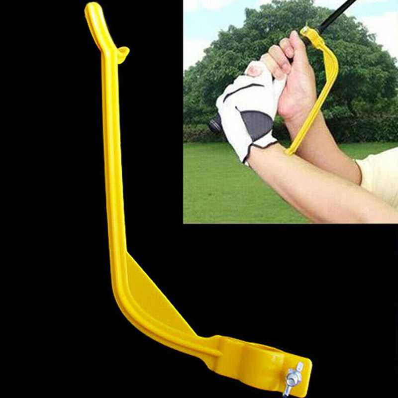 3Pcs Golf Swing Trainer Practice Guide Golf Gesture Correct Wrist Training Aids FK88