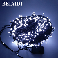 BEIAID AC220V LED Fairy String Light 100M String Garland For Home Hotel Garden Fence Decor Christmas Party Holiday Lighting