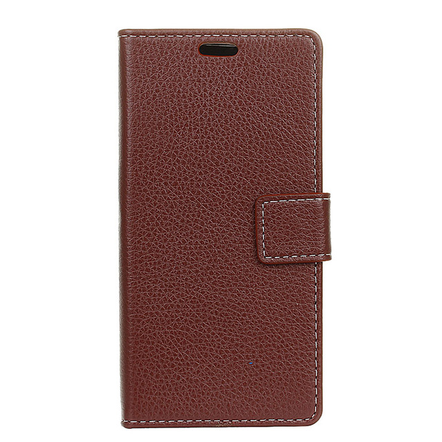 Original For Coque Wiko Lenny 3 Case Flip Cover Card Holder  Wallet Litchi Pattern For Fundas Wiko Lenny3 Leather Phone Case