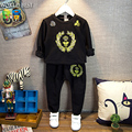 Children Clothing Kids Clothes Boys Long-Sleeve T-shirt Sports Pants Set 2016 Everything For Children Clothing And Accessories