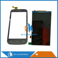 Black White Color New Replacement For Fly IQ4406 IQ 4406 LCD Display With Touch Screen Digitizer