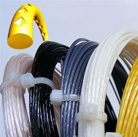 Free shipping 40pcs lot LXN ALU Power Rough tennis strings Polyester strings