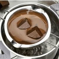 Stainless steel water bath pot of chocolate butter melting Mini heating pot baking tools Slicer Mold Baking Tool Kit Set
